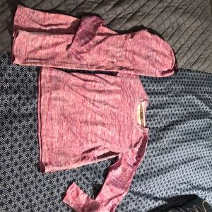 GIRLS YOUTH 2 PC CHAMPION PINK SET PJS LONG JOHNS
